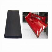 BŘIT RADLICE - gumový profil bez úkosu 250x40mm, 70 Sh.