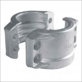 CLAMPS DIN 2817 AL - na hadice Dn 125x10 / 143-148 mm