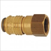 STANDARD MINI IG - rychlospojka s oboustranným ventilem,G3/8